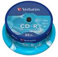 CD-R  80m./700MB 25ks v plast. obalu
